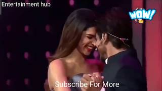 63rd jio filmfare awards 2018  Shahrukh Khan, Karan Johar and Deepika Padukone fun