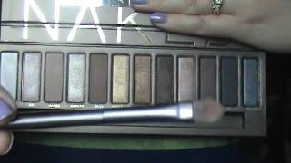 Urban Decay Naked Palette Swatches Thumbnail