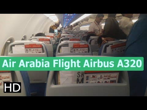 Air Arabia Flight Airbus A320