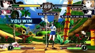 Dengeki Bunko: Fighting Climax (PlayStation 3) Story/Arcade as Yukina Himeragi