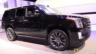 2019 Cadillac Escalade Sport Edition - Exterior and Interior Walkaround - 2018 LA Auto Show