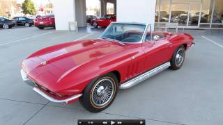 1965 Chevrolet Corvette Stingray Start Up, Exhaust, and In Depth Tour