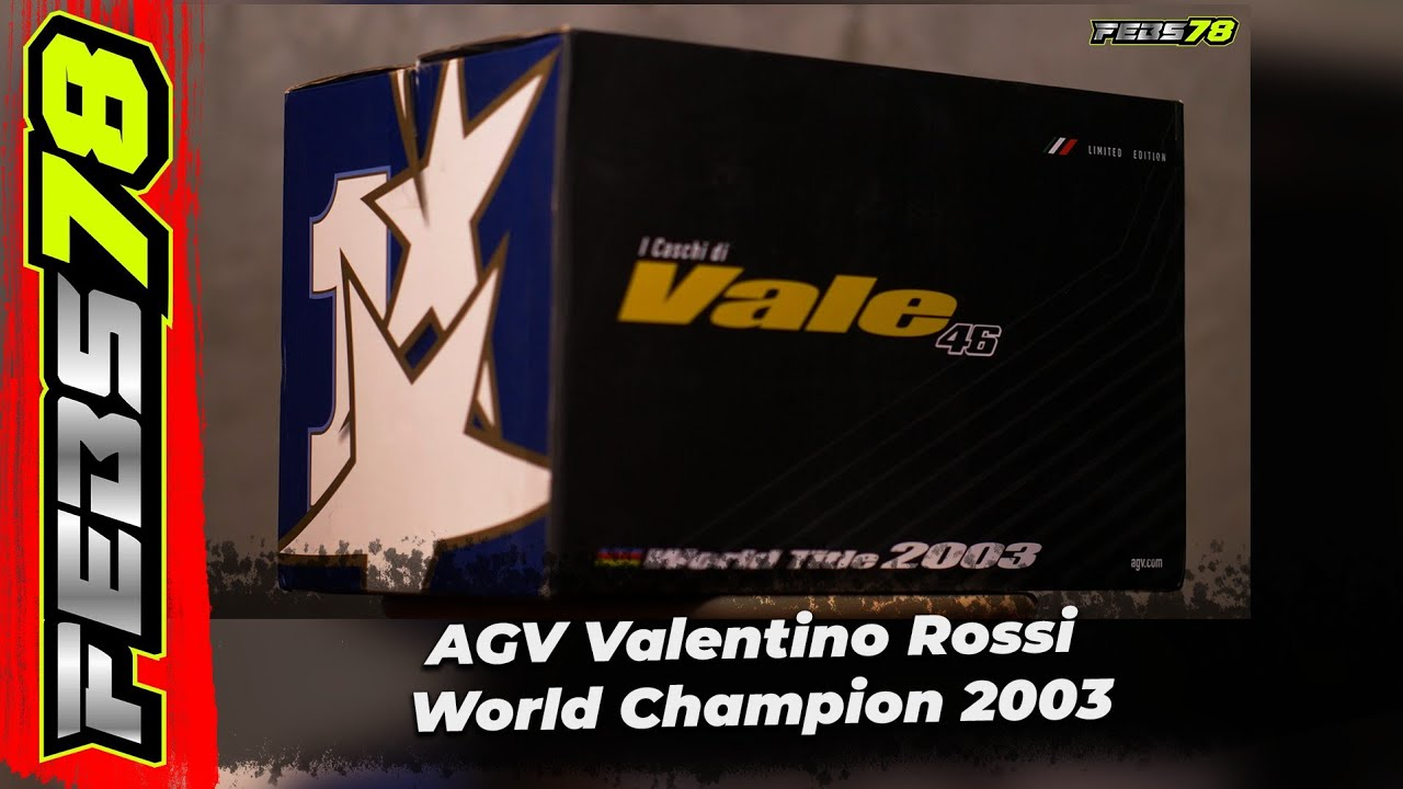 Febs78..Review dan Unboxing AGV Special Edition VR46 (Part 1)