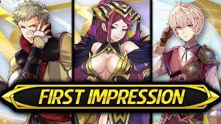 Fire Emblem Heroes - First Impression & Stat Speculation: Loki, Owain & Kliff! (Brave Redux)