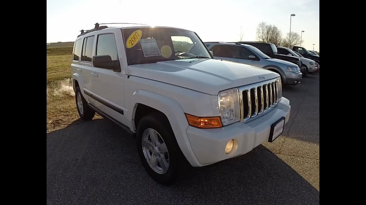 2007 Jeep Commander Sport 17744A