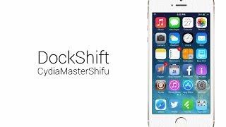 cydia軟體教學介紹 dockshift 讓iphone的dock變透明 支援ios 7
