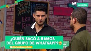 Al Ángulo: Carlos Zambrano y el ping pong por fin de año | ¿quién sacó a Ramos del Whatsapp?😂😂
