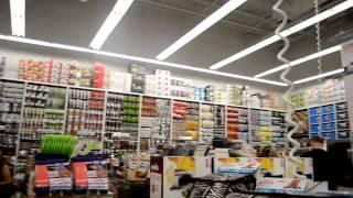 23. Жизнь в США - Гуляем по Loop Plaza, зашли в магазин домашней утвари, цены, разнообразие