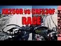 XR250R vs CRF230F RACE - Head to Head Shootout