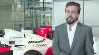 F1 2015 - McLaren Honda - Interview with Fernando Alonso (English)