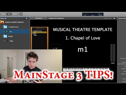 MainStage 3 Programming Tips for Musical Theatre