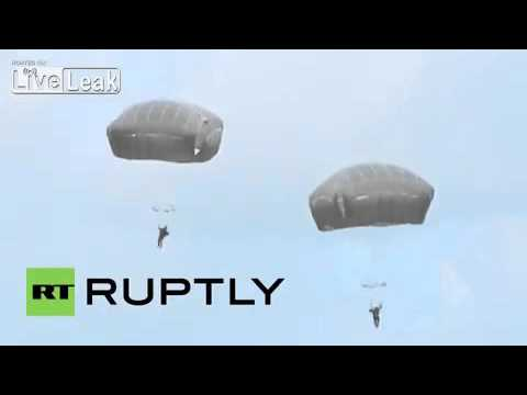 [TOP]2015 Estonia: US paratroopers hold joint drills with Estonian Defence League