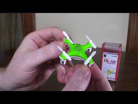 Cheerson - CX-10 (2014 World's Smallest Quadcopter) - Review and Flight