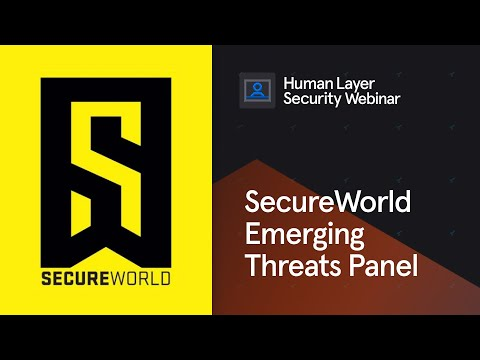 SecureWorld | Emerging Threats Panel with Tessian, KnowBe4, the FBI and GuidePoint Security