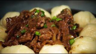 전혀 이질감없는 을지로 몽골전통 음식, 소고기국과 만두…