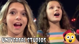 Universal Studios HHN Halloween 2018 | Coco Quinn & Hayley LeBlanc | Quinn Sisters