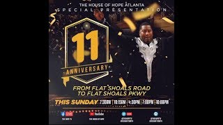 11th Anniversary (Flat Shoals Road to Flat Shoals Parkway)