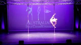 Australian Pole Championships 2015: Bonnie Henderson  (1st place: Amateur division)