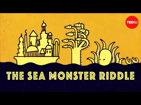 Video image: Can you solve the sea monster riddle? - Dan Finkel