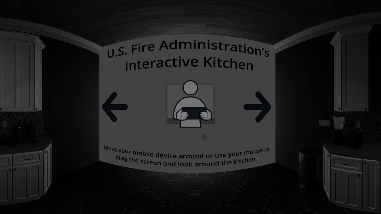 360-degree Kitchen Fire-safety