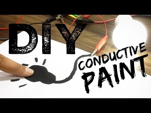DIY How To Make Conductive Paint At Home || Part 1