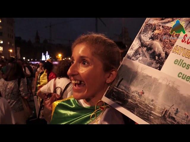 Entrevista 27S Manifestació Clima (I)