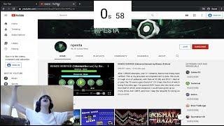 Npesta YouTube Channel Speedrun WR
