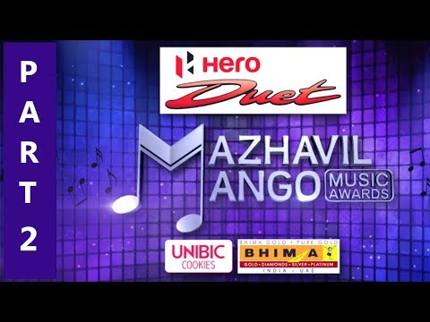 Mazhavil Mango Music Awards 2017 I Part - 2I Mazhavil Manorama