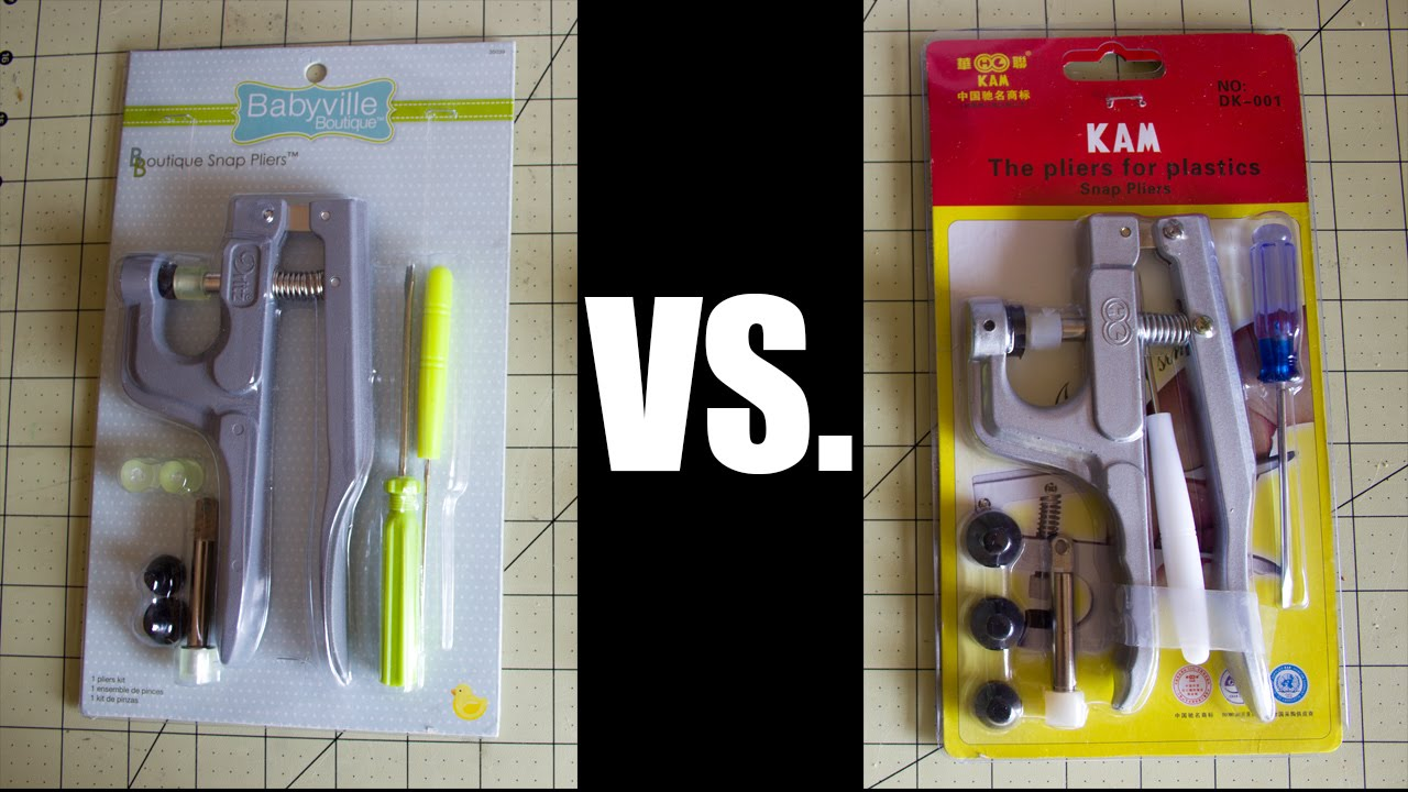 Babyville Vs  KAM Snap Pliers Kit