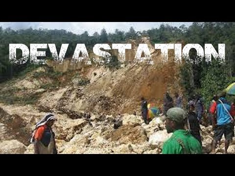 6.3 Earthquake D E V A S T A T E S  PAPUA NEW GUINEA Again...