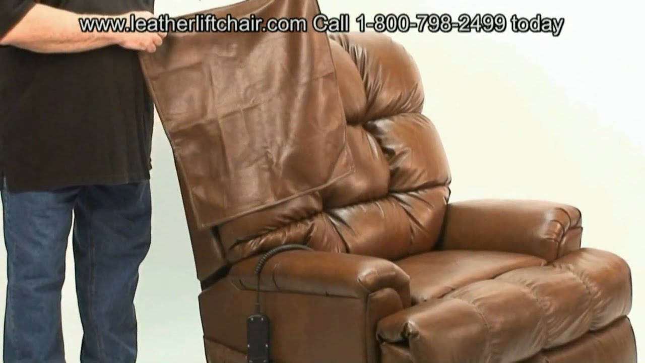 Liftchair Leather Lift Chair Demonstration