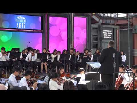 First Avenue Middle School Symphony Orchestra Disneyland Concert 2020