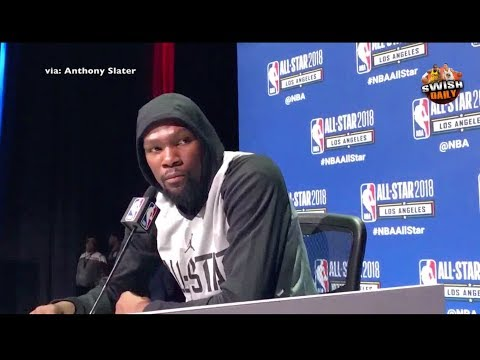 Kevin Durant says Westbrook is best dunker he's seen, gets into it with reporter on Warriors record
