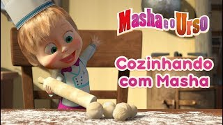 Gambar cover Masha e o Urso - Cozinhando com Masha 🍔