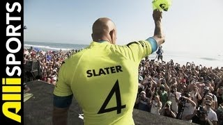 Kelly Slater on his 50th Win, Alli Sports Catching Up