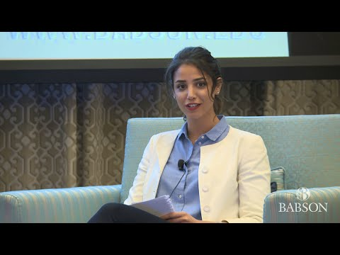 Young Entrepreneurs, Leveraging the Babson Network for Global Enterprise