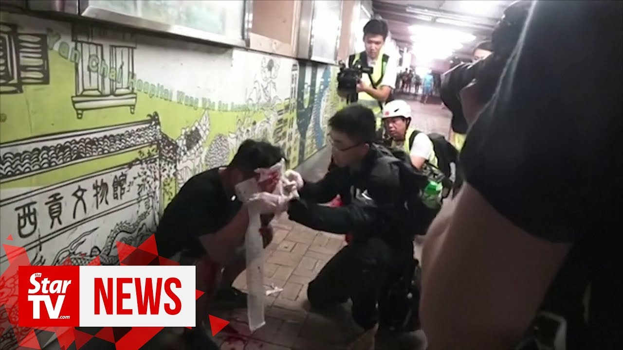 Hong Kong protesters take violence to new 'life-threatening' level, say police
