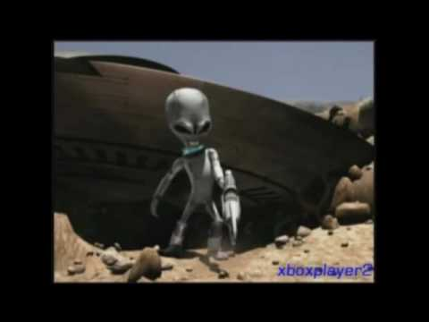 destroy all humans music video