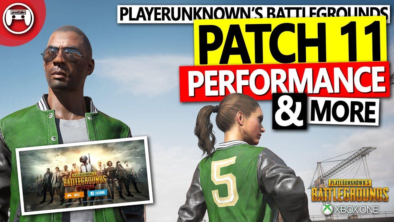 pubg xbox patch 11