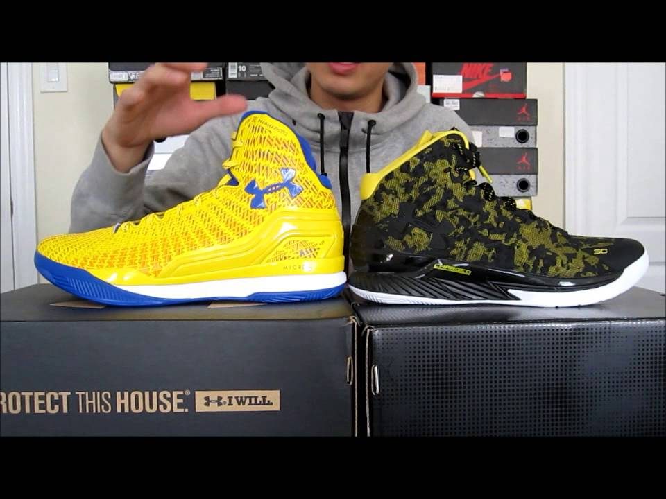 adab07fd096 ... discount under armour clutchfit drive vs. curry one comparison and  review youtube bccd5 1935f