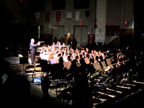 Mary Ward C.S.S Christmas Concert - Junior Band (Crusade by Vince Gi)