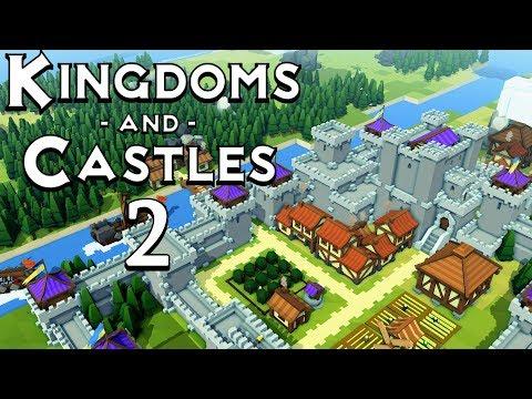 Прохождение Kingdoms and Castles: #2 - НАПАДЕНИЕ ВИКИНГОВ!