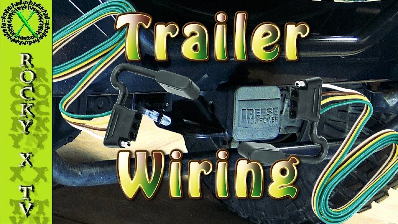 how to install trailer wiring on a jeep wrangler project dirty willy ep 28 [ 1280 x 720 Pixel ]