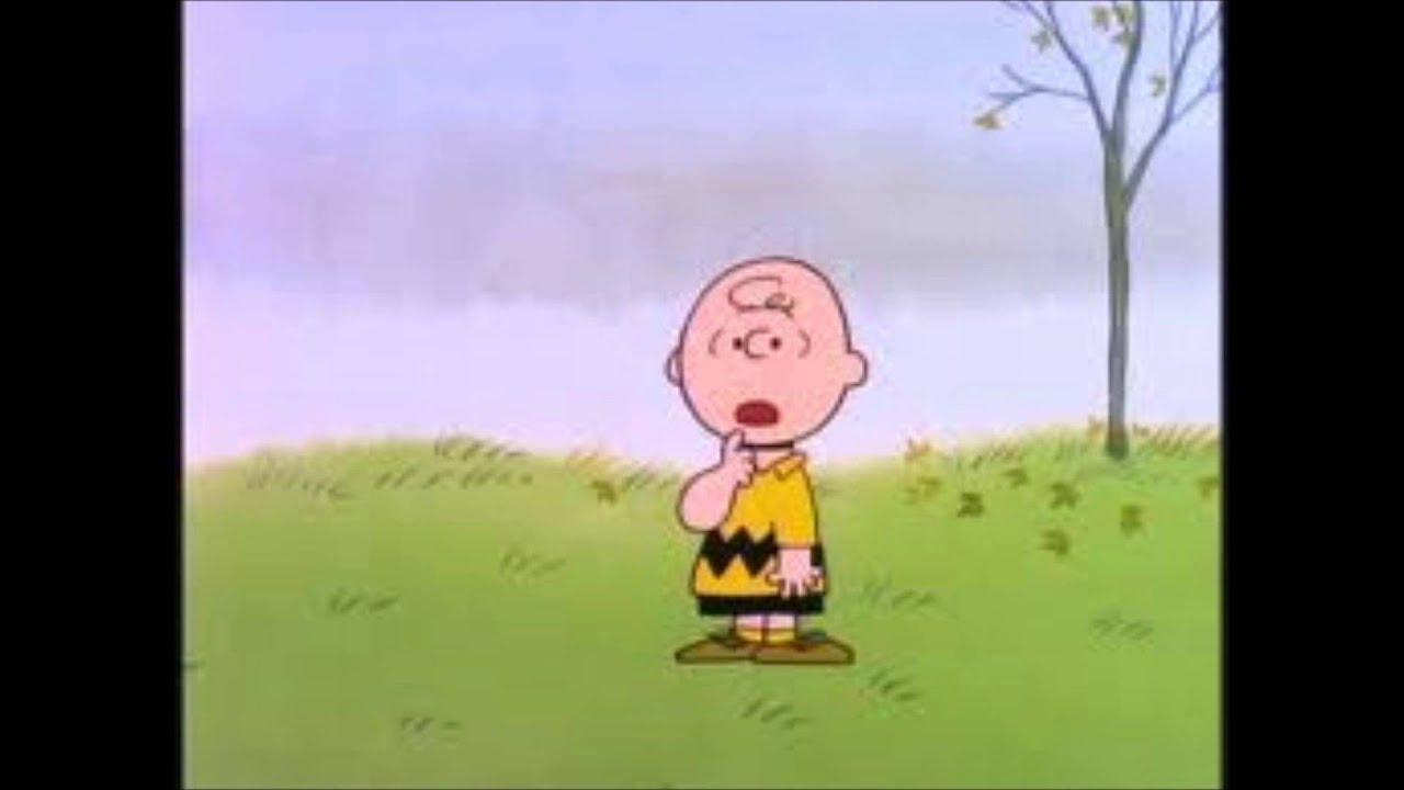 caminhando e cantando charlie brown