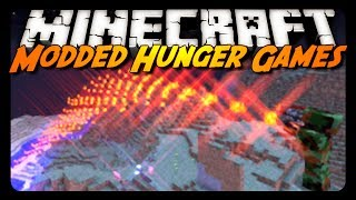 Minecraft: MODDED HUNGER GAMES! (Rival Rebels Mod)