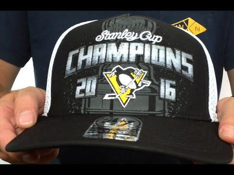 Penguins 2016 'STANLEY CUP CHAMPS' Hat by 47 Brand