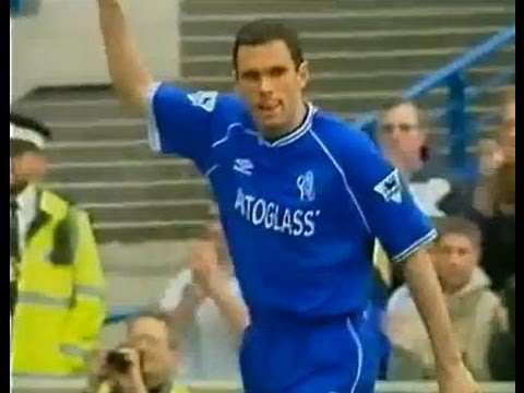 Chelsea v Middlesbrough 1999-00 GUS POYET RICARD GOAL