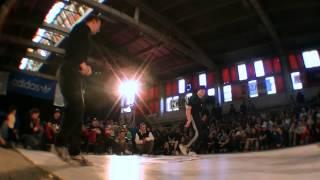 Skromcich vs. Cheerito (Adidas Originals Rocks the Floor)