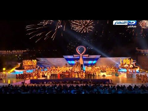 Opening concert  of the New Suez Canal 2015 -  الحفلة الفنية لأفتتاح قناة السويس الجديدة .. كاملة