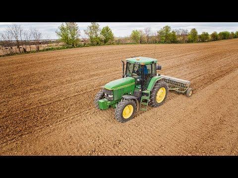 Seeding 25 Acres Of Oats